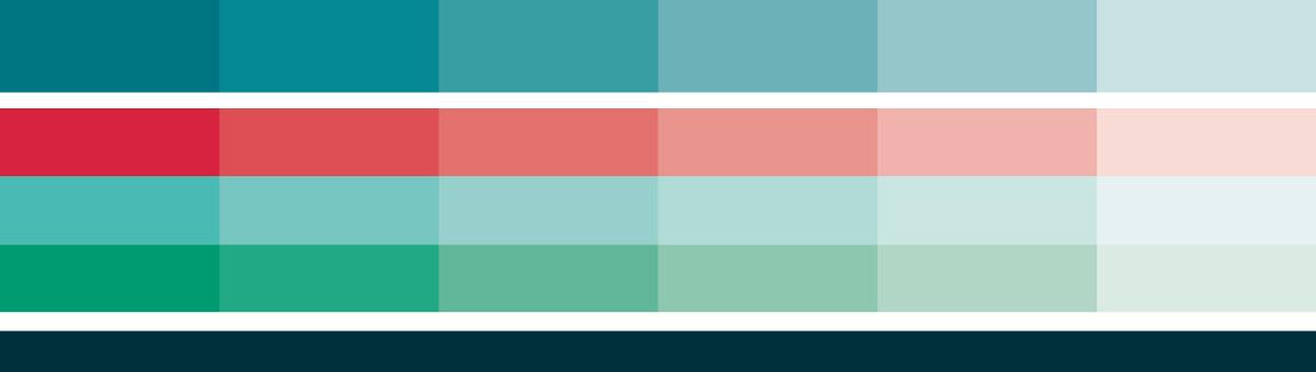 Farveskema logo visuel identitet