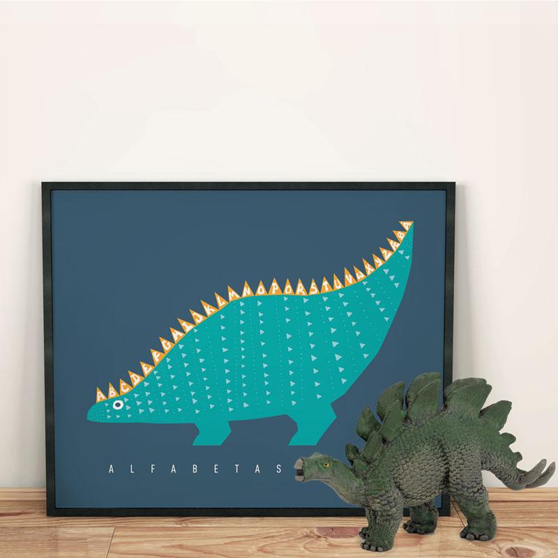 Alfabetasaurus-Rikke winkler Nilsson