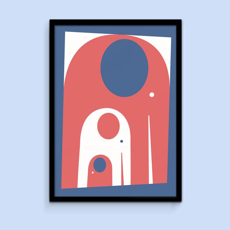 Elephant poster - Rikke Winkler Nilsson